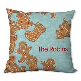 Yummy Xmas Cookies Personalized Pillow