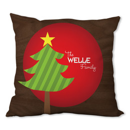 A Big Old Tree Personalized Pillow