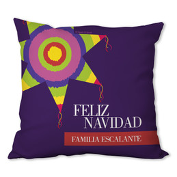 A Colorful Piñata Personalized Pillow