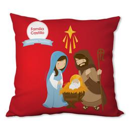 La Tradicion de el Nacimiento Personalized Pillow