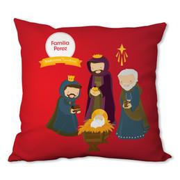 La Tradicion de Los Reyes Magos Personalized Pillow