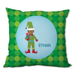 Cute Elf (Boy) Personalized Pillow