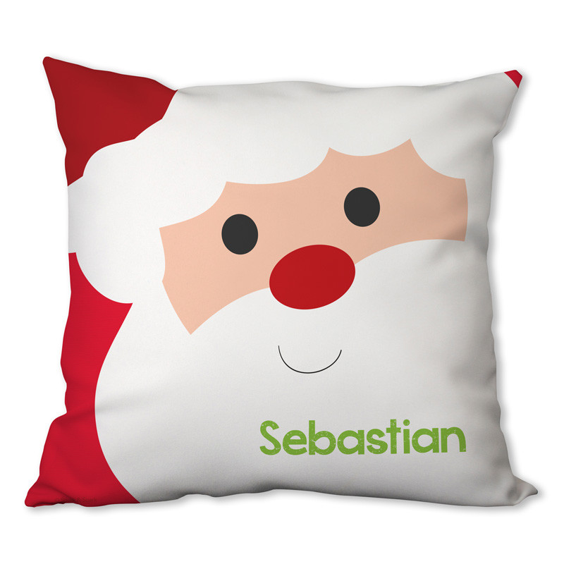 Cookies For Santa Personalized Pillow