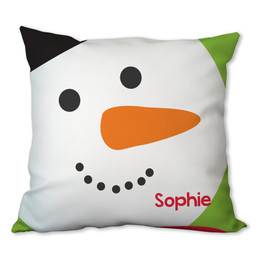 I Love Christmas Time Personalized Pillow