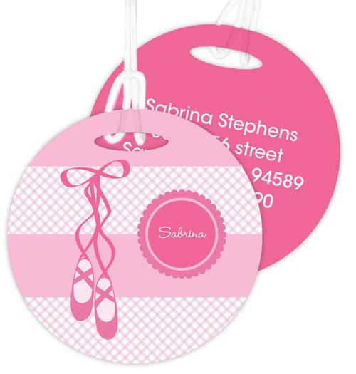 My Ballerina Shoes Kids Bag Tags