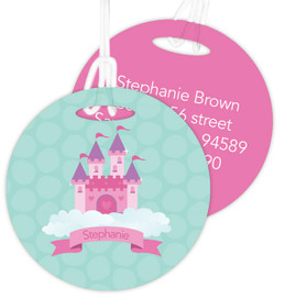 A Castle In The Sky Luggage Tags For Kids
