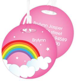 Dreamy Rainbow Kids Luggage Tags