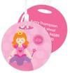Cute Red Hair Princess Kids Luggage Tags
