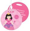 Cute Asian Princess Kids Luggage Tags