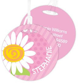 A Daisy For You Kids Luggage Tags