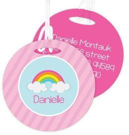 A Rainbow In The Sky Kids Bag Tags