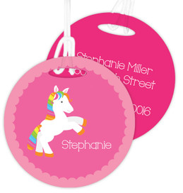 Playful Pony Kids Bag Tags