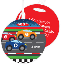 Race To Finish Kids Bag Tags