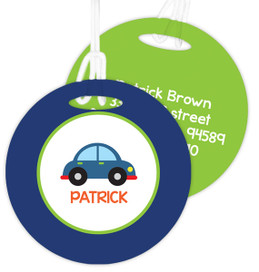 Cute Little Car Luggage Tags For Kids