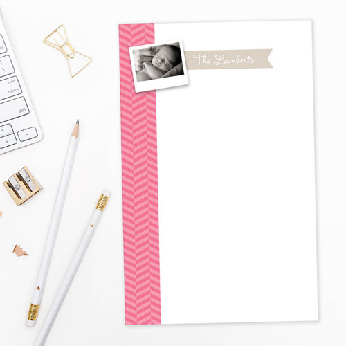 Shop Custom Notepads   Up and Down Photo