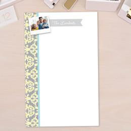 Modern Custom Personalized Notepads   Victorian Ways Photo