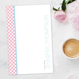 Beautiful Custom Printed Notepads   Criss Cross