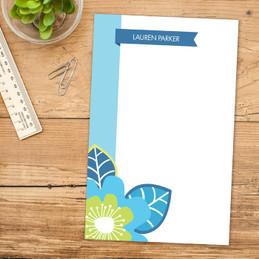 Modern Fancy Notepad | Bold Beauty Border