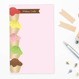 Classic Letter Notepad | Yummy Treats Border