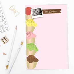 Original List Notepad | Yummy Treats Photo