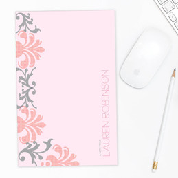 Gorgeous Notepad With Pictures | Colorful Victorian