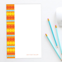 Classic Personalised Photo Notepads | Simply Dots