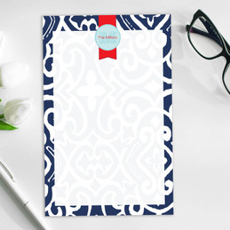 Beautiful Personalized Notepad With Name | Gorgeous Style