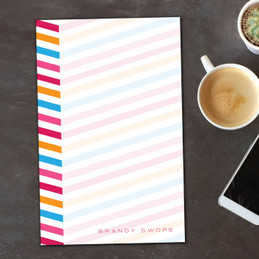 Modern Shopping List Notepad | Beautiful Colors