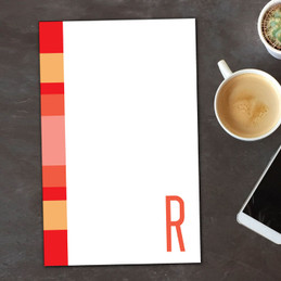 Bold and Modern Custom Notepad