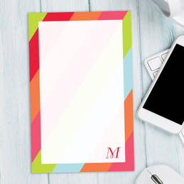 Awesome 5X7 Notepad | Simply my Initial
