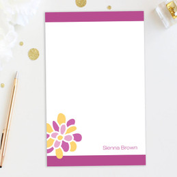 A Sweet Bloom Custom Notepad