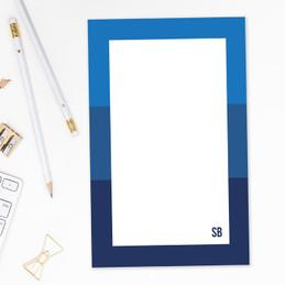 Shades of Color Custom Notepad