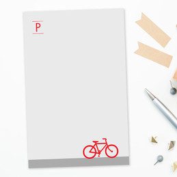 Bike Ride Custom Notepad