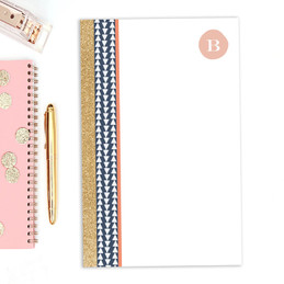 Check out our Notepad Stationery | Triangles & Glitter