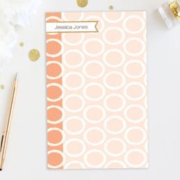Tapestry Pattern Custom Notepad