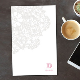 Fantastic Notepad With Pictures   Sweet Embroidery