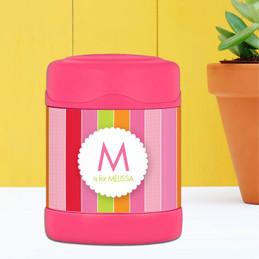 Bold & Fun Stripes Thermos Food Jar