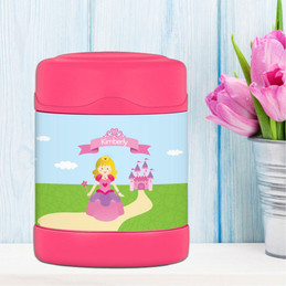 Sweet Little Princess Thermos Food Jar