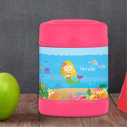 Sweet Mermaid Thermos Food Jar