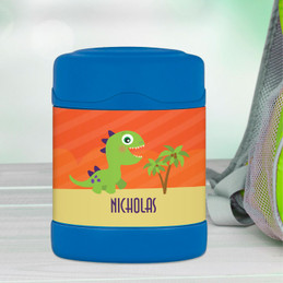 baby dinosaur personalized thermos food jar for kids