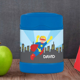 A Cool Superhero Thermos Food Jar