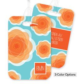 Pretty Blooms Bag Tag