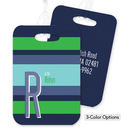 Bold and Modern Bag Tag