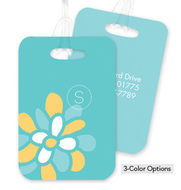 A Sweet Bloom Bag Tag
