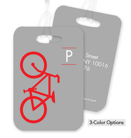 Bike Ride Bag Tag