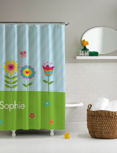 Spring Blooms Shower Curtain