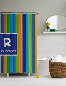 Perfect Sale Bold Stripes Shower Curtain