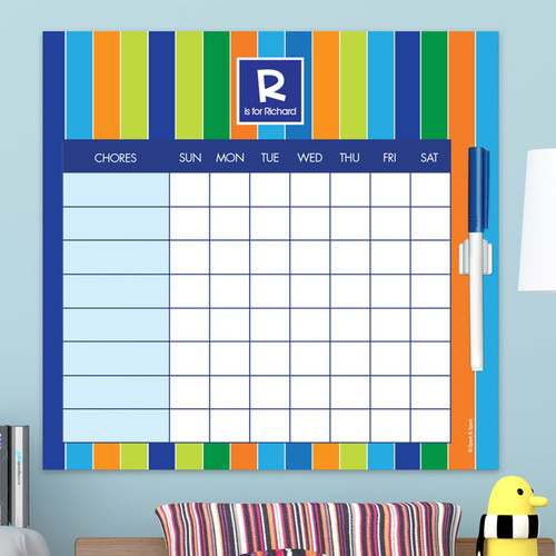 Bold Stripes Kids Charts
