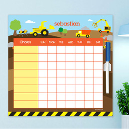 Construction Site Chore Chart For Teens