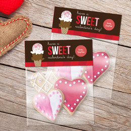 Sweet Valentine's Day Treat Bags
